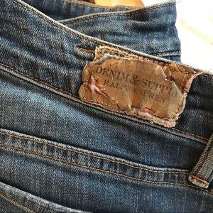 Denim & Supply Blue Skinny Jeans